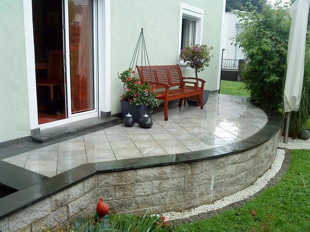 Erhohte Terrasse Im Garten