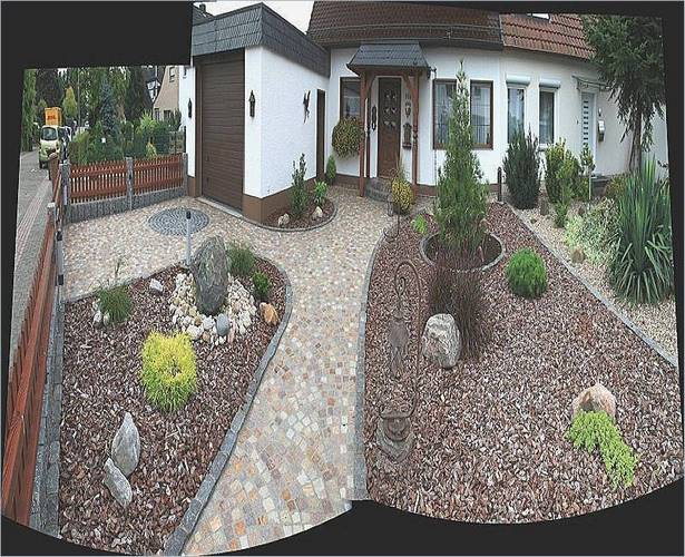 Garten hauseingang gestalten for Minimalistischer vorgarten