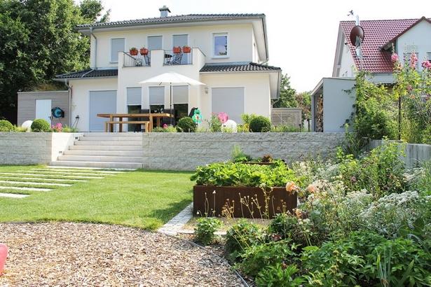Garten Höher Als Terrasse