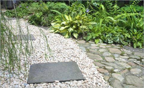 Garten Mit Feldsteinen Gestalten