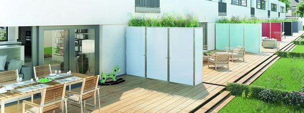 Garten Reihenhaus Sichtschutz