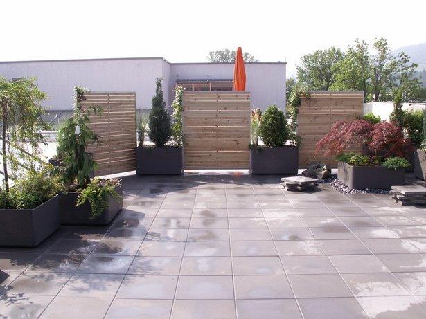 Terrasse Gestalten Mit Sichtschutz