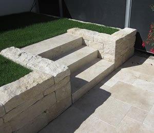 Terrasse Mit Mauer Anlegen