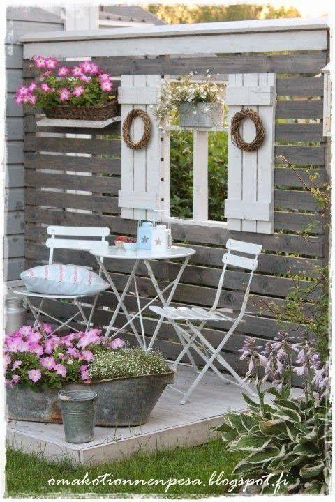 Terrassenboden Verschönern