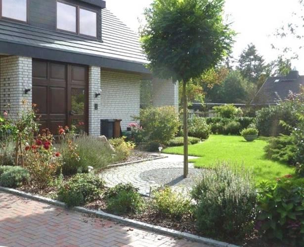 Vorgarten gestalten reihenhaus nordseite for Gartengestaltung nordseite