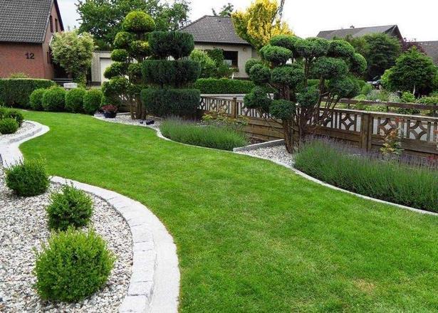 Vorgarten mit gr ser gestalten for Gartengestaltung vorgarten modern