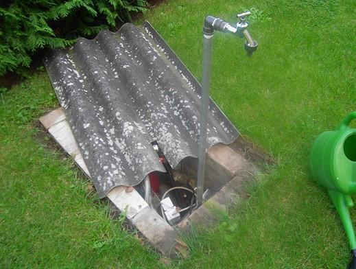 Wasserstelle garten selber bauen