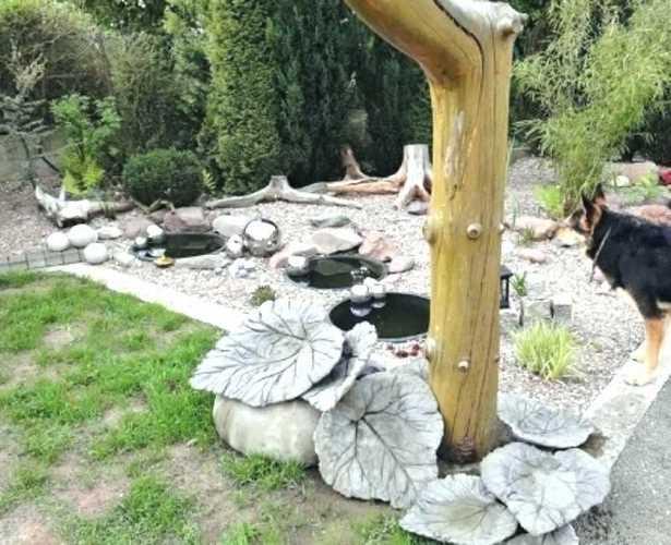Holzfiguren Für Den Garten Selber Machen