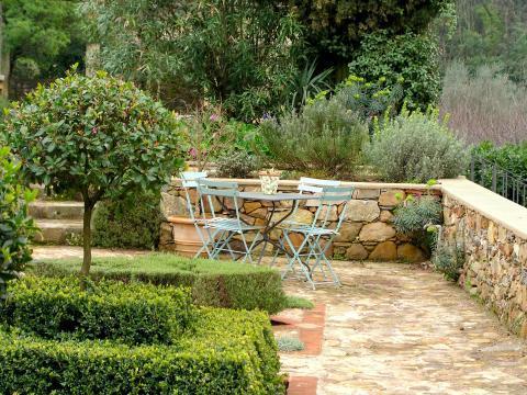 Terrasse italienisch gestalten