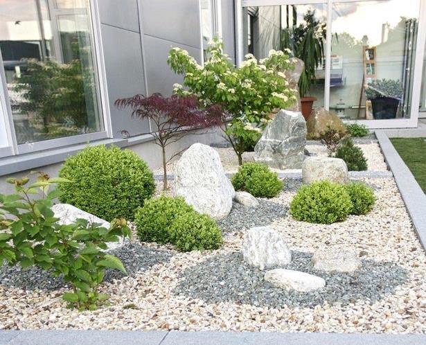 Beetgestaltung Mit Steinen