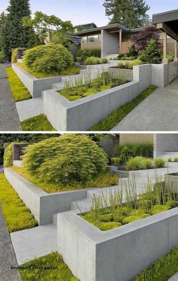 Brunnen Design Garten