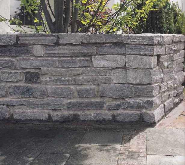 Garten Wand Stein