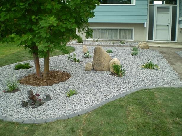 Gartengestaltung Ideen Mit Steinen