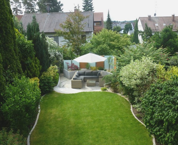 Gartengestaltung Kleine Garten Mit Kies