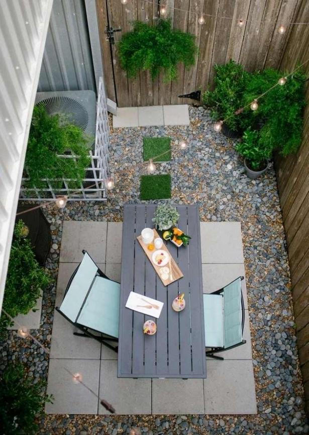 Gartengestaltung Kleine Gärten Mit Kies