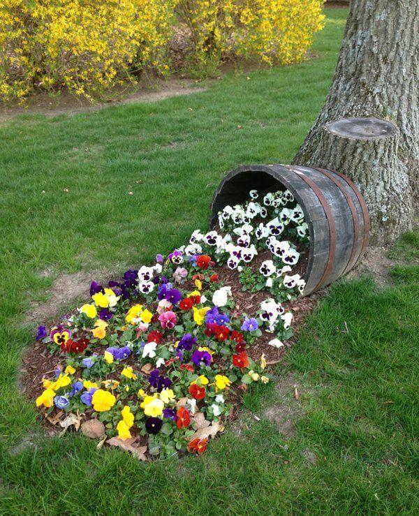 Gartengestaltung Mit Blumen