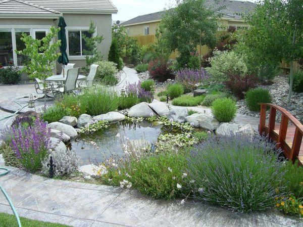 Gartengestaltung teich for Gartengestaltung ideen beispiele