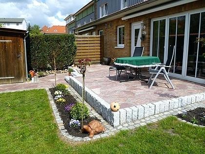Gartengestaltung Terrasse Bilder