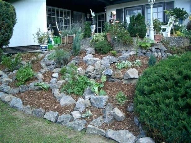 Gestaltung Garten Hanglage
