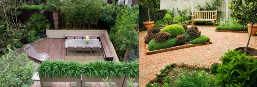 Kleine g rten gestalten ohne rasen for Gartengestaltung kleine garten sichtschutz
