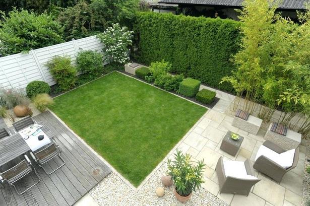 Kleine Garten Modern