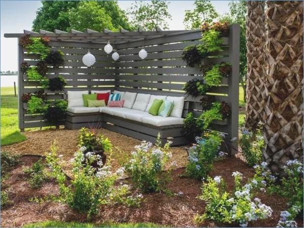 Garten Sitzecke Gestalten Ideen Für Kleine Große Gärten: Kleine Sitzecke Garten