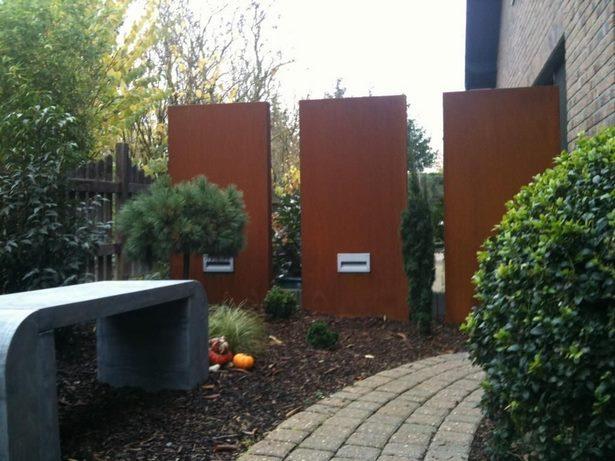 Deko Sichtschutz Garten