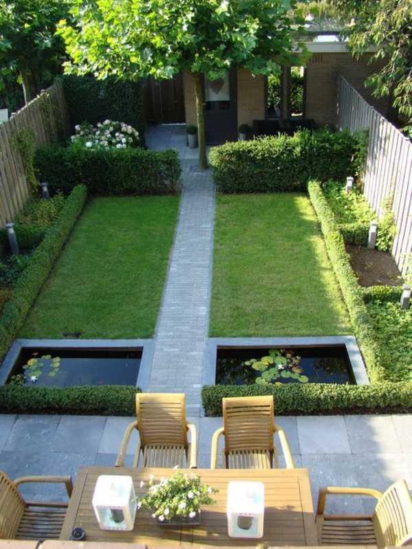Garten Reihenmittelhaus Gestalten