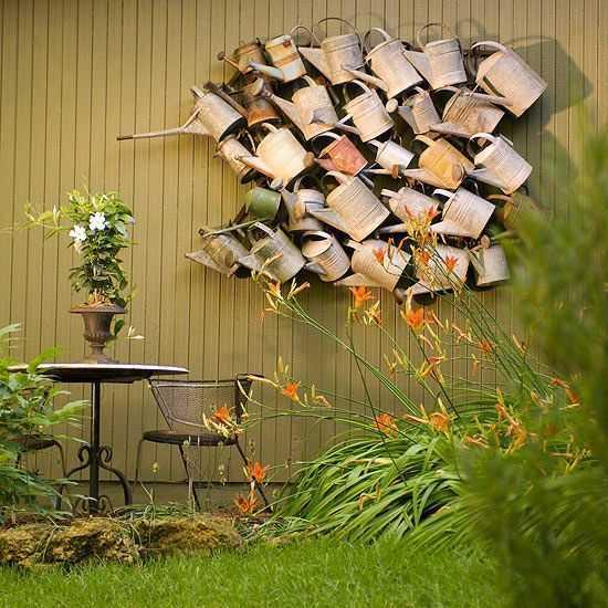 30 Unique Garden Design Ideas: Gartendeko Aus Alten Sachen