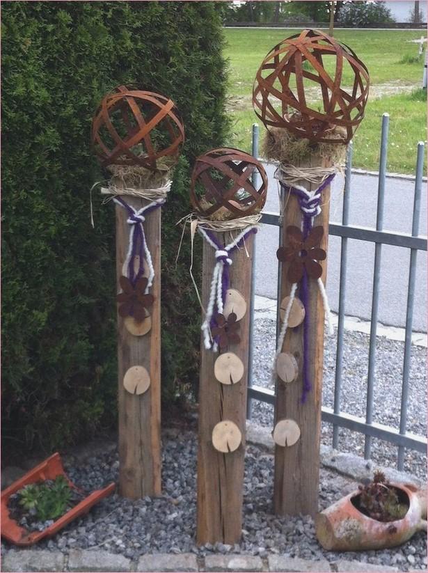 Gartendeko Aus Holz