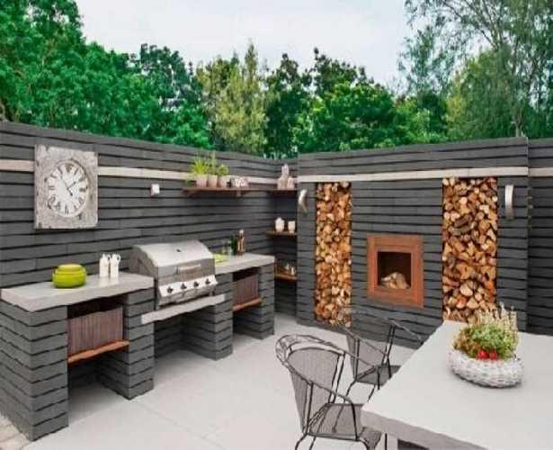 gartengestaltung grillplatz bilder. Black Bedroom Furniture Sets. Home Design Ideas