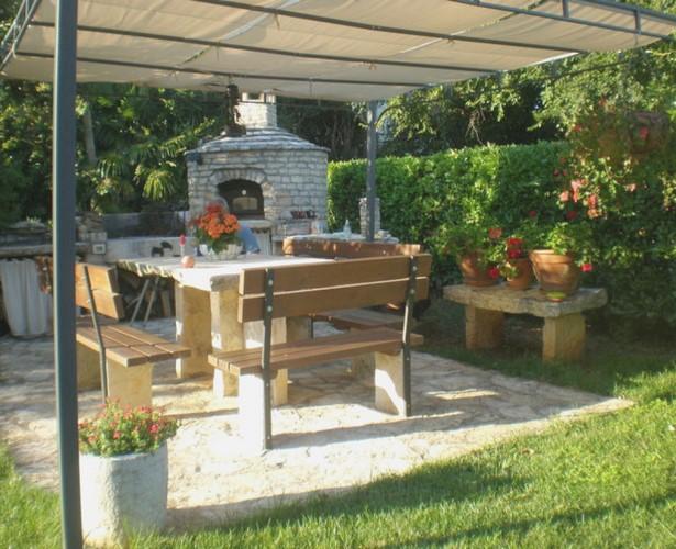 Gartengestaltung grillplatz bilder