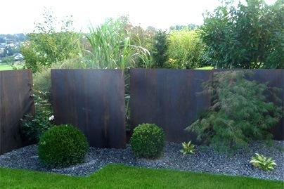 gartengestaltung sichtschutz mit pflanzen. Black Bedroom Furniture Sets. Home Design Ideas