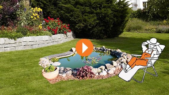Gartenteich Kleiner Garten