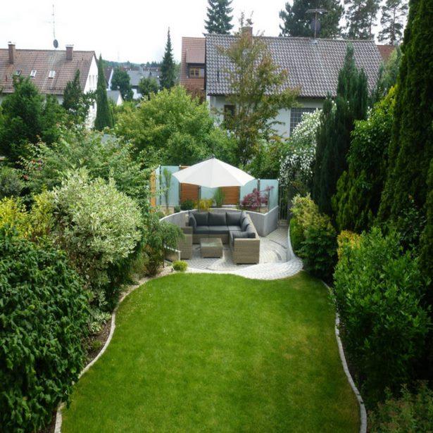 Garten Sitzecke Gestalten Ideen Für Kleine Große Gärten: Kleine Garten Sitzecke