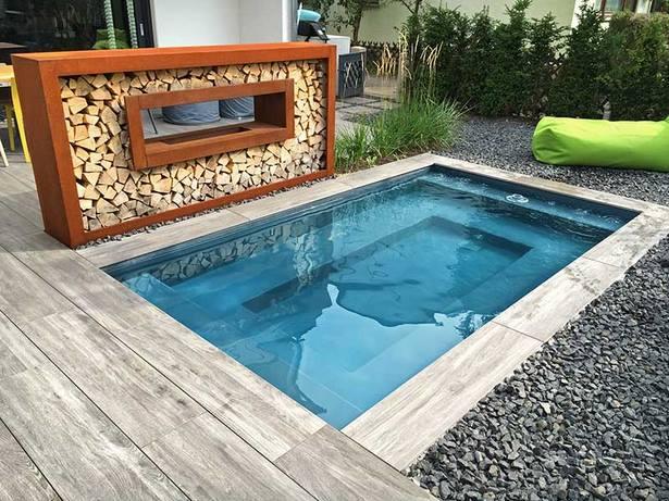 Pool Gartengestaltung Bilder