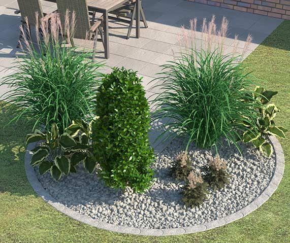 Steingarten mit gr sern anlegen for Halbschattige balkonpflanzen