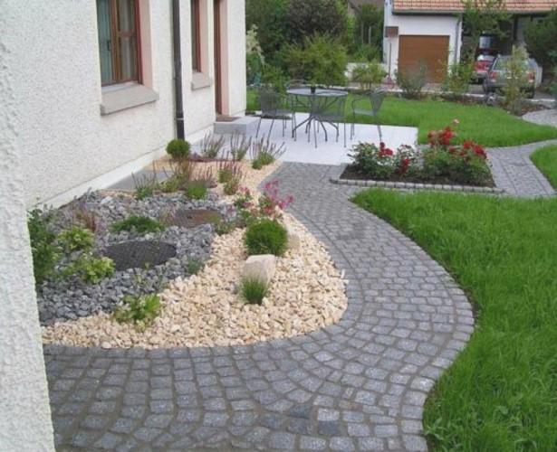 Steingarten Vorgarten