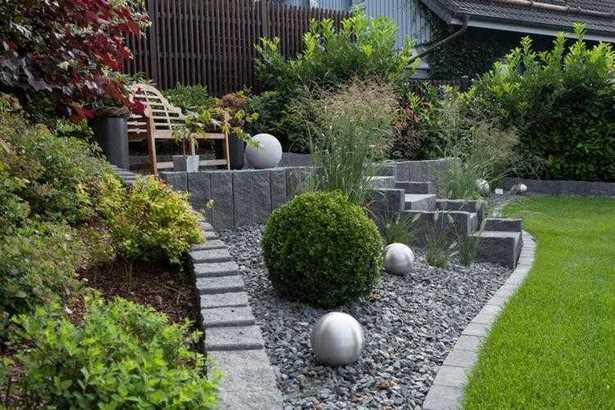 Vorgarten Gestalten Mit Kies Und Gräsern
