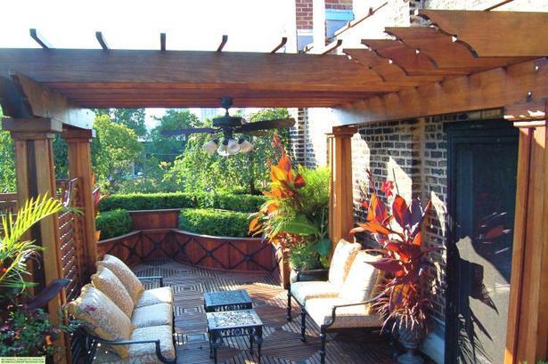 Dachterrasse Gestalten Pflanzen