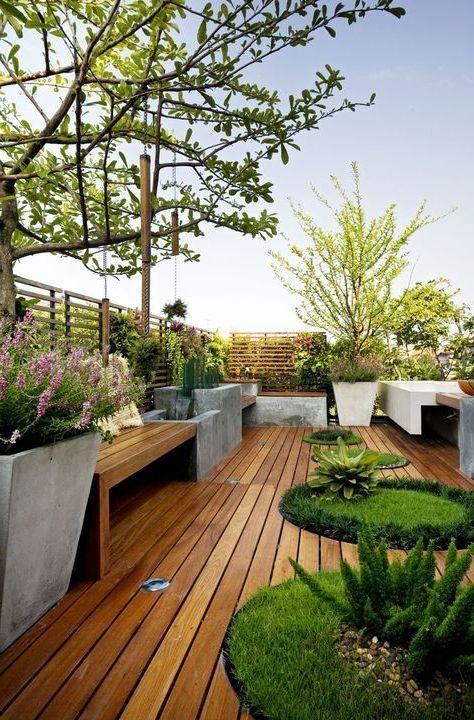 Dachterrasse Gestalten Ideen
