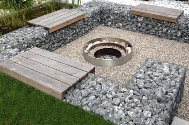 Feuerstelle Garten Gestalten