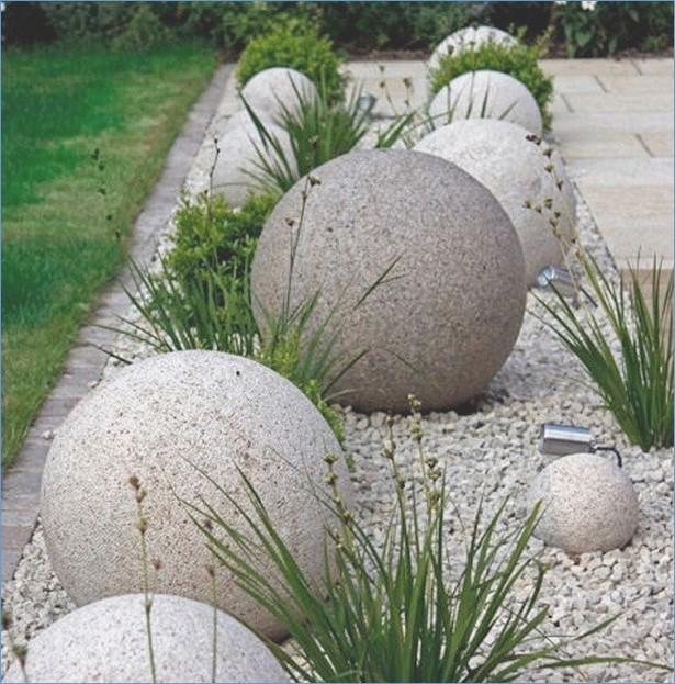 Garten Deko Steine