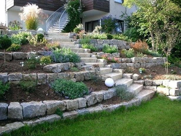 Garten mit hanglage gestalten for Garten gestalten hanglage