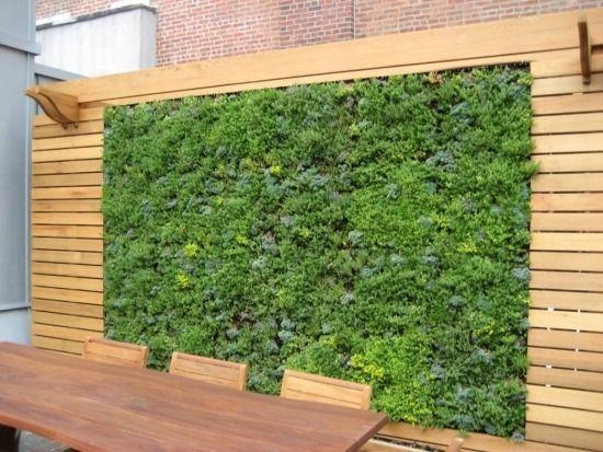 Gartengestaltung Sichtschutz Terrasse