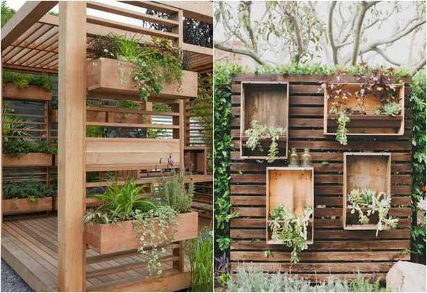 Gartenideen Mit Holz