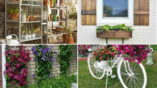 Garten-Ideen für zu Hause