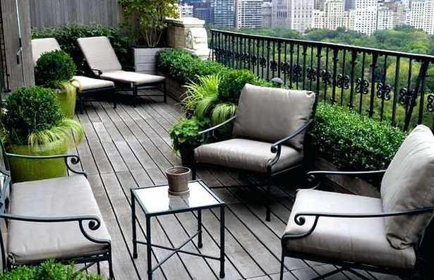 balkon deko ideen. Black Bedroom Furniture Sets. Home Design Ideas