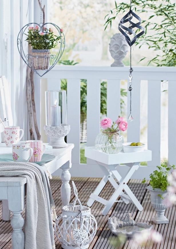 Balkon Garten Dekoration