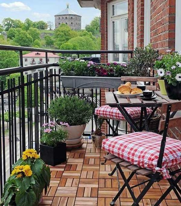 Balkon Ideen Pflanzen
